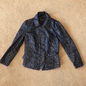 Carlisle Black Sequin Jacket